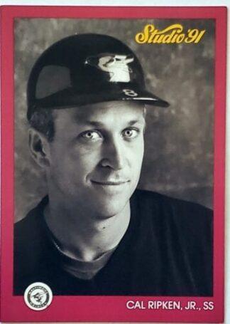 Cal Ripken Studio 1991 MLB Trading Card #9