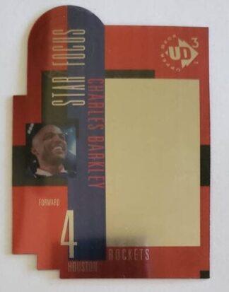 "Charles Barkley ""Diecut"" Upper Deck UD3 1997 NBA Card #27"