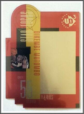 Dikembe Mutombo Upper Deck UD3 1997 NBA Card #28