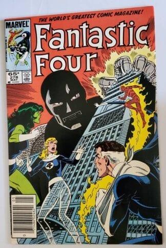 Fantastic Four Issue #278 Marvel Comic Book