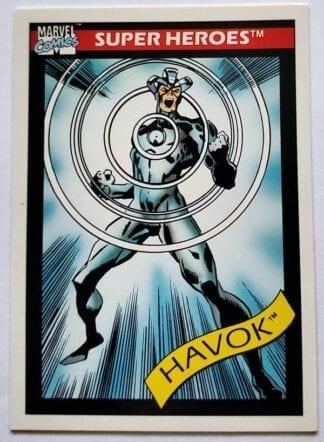 "Havok Marvel Comics Cards 1990 ""Super-Heroes"" Card #35"