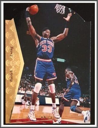 Patrick Ewing 1995 Upper Deck SP NBA Sports Trading Card #D116