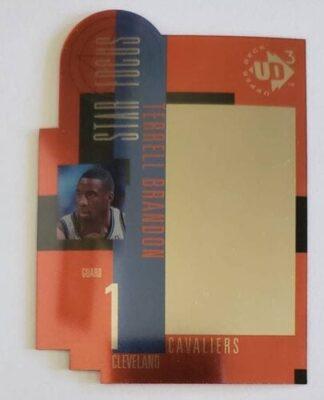 Terrell Brandon Upper Deck UD3 1997 NBA Trading Card #25