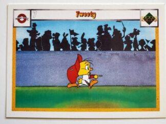 Tweety Upper Deck 1990 Looney Tunes All-Stars Card #10
