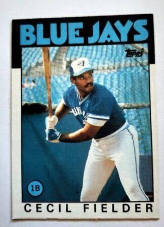 Cecil Fielder Topps 1986 Sport Card #386