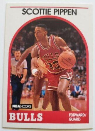 Scottie Pippen Hoops 1989 NBA Card #5 Chicago Bulls