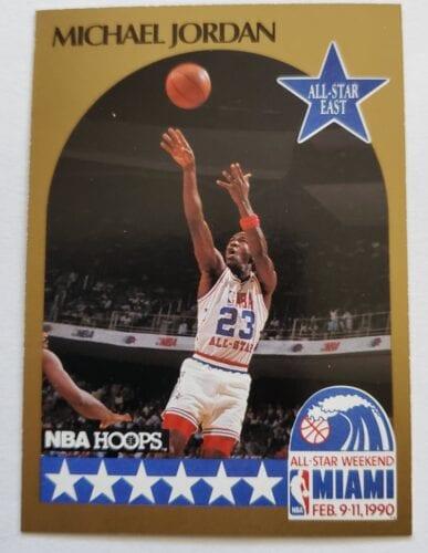 Major League Sports Card-NBA Michael Jordan