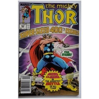 The Mighty Thor February 1989 Marvel Comic Issue #400