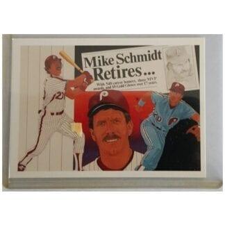 Mike Schmidt 1990 Upper Deck