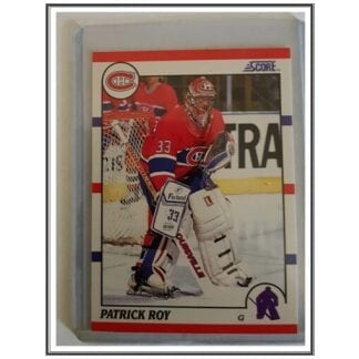 Patrick Roy Score 1990 NHL Hockey Card #10