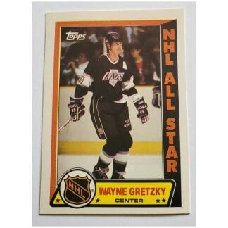 Wayne Gretzky Topps 1989 NHL Hockey Sticker #11 Los Angeles Kings
