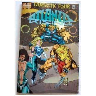 Fantastic 4 Issue #2 Atlantis Rising