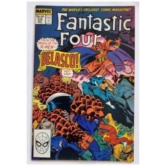 Fantastic 4 Issue #314 Marvel Comics May 1988