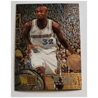 Joe Smith Fleer Metal 1996 NBA Card #150 Golden State Warriors